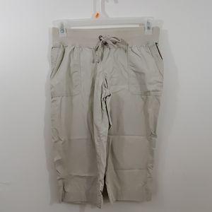Merona capri lounge pants size small